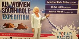Polar Maidens - Jan Meek in India
