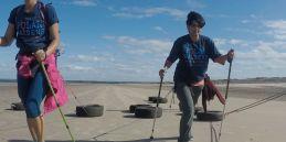 Polar Maidens - Madhabilata and Tanvi training in Scotland