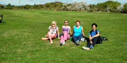 Polar Maidens - Jan Meek, Madhabilata, Aileen and Tanvi in Bexhill