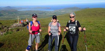Polar Maidens - Aileen, Jan and Caroline busy training