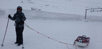 Polar Maidens - Caroline Geraerts training hard