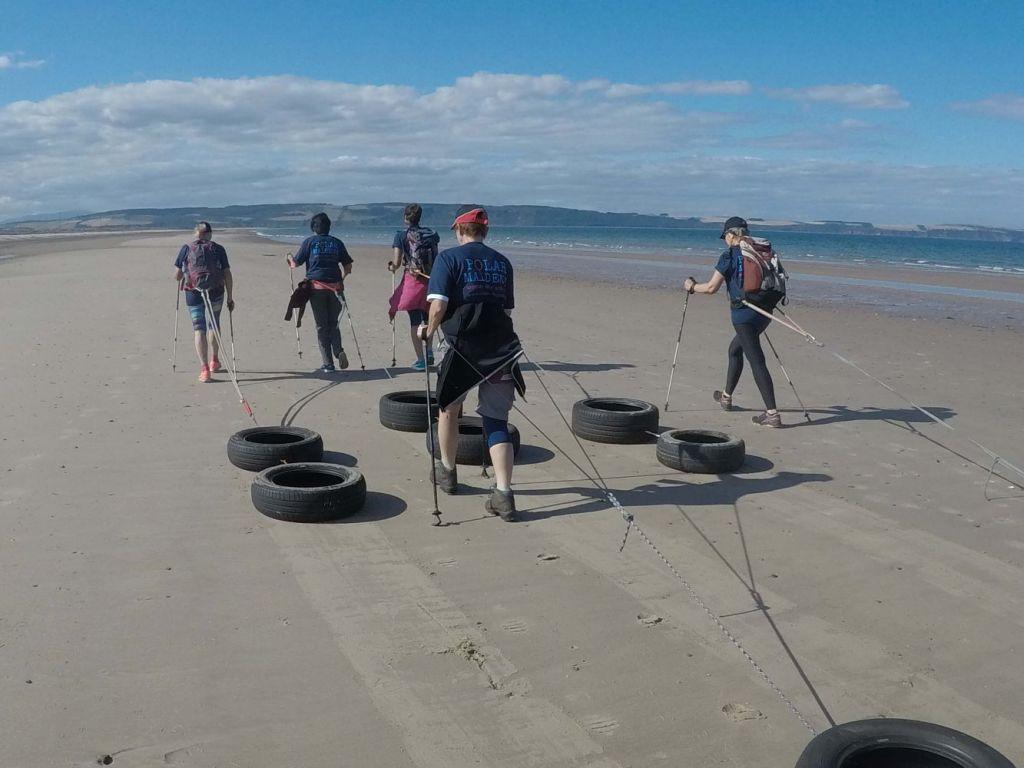 Polar Maidens - Training in Scotland