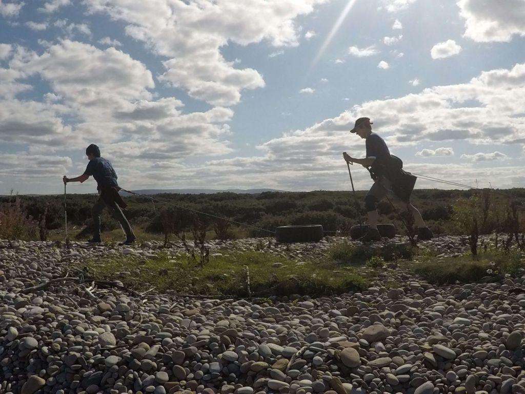 Polar Maidens - Tanvi Buch and Aileen Crean O'Brien training in Scotland